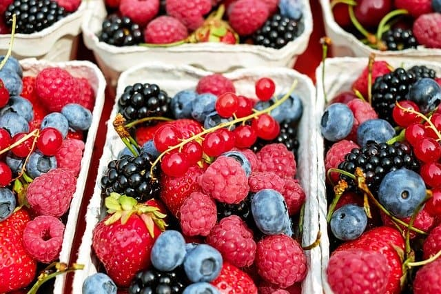 12 edible berries and their shelf life