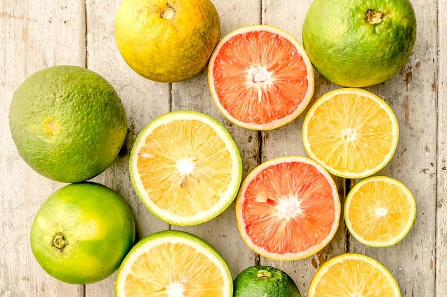 10 vibrant citrus fruits