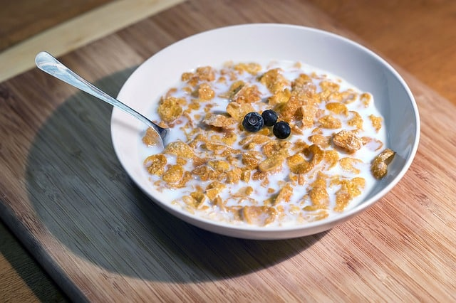 regular breakfast cereals and their shelf life